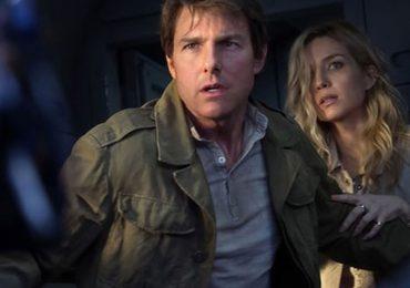 Tài tử Tom Cruise nhận giải Mâm xôi vàng vì phim 'Xác ướp'
