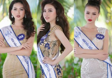 Top 40 'Hoa hậu Biển Việt Nam Toàn cầu 2018' kiều diễm trong bộ ảnh dạ hội