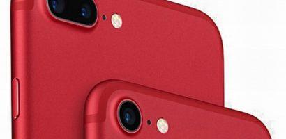 Hãng điện thoại Apple ra iPhone 8 màu đỏ ngày 10/4/2018
