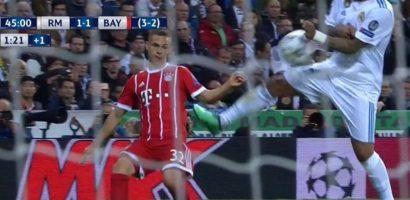 Trọng tài tai tiếng giúp Real Madrid thoát penalty?