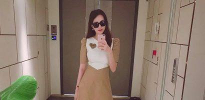 Nhan sắc mặn mà của Hoa hậu Đặng Thu Thảo sau 2 tháng sinh con