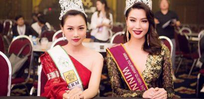 Hoàng Thu Thảo chấm thi Nữ hoàng Du lịch Quốc tế 2018 tại Thái Lan