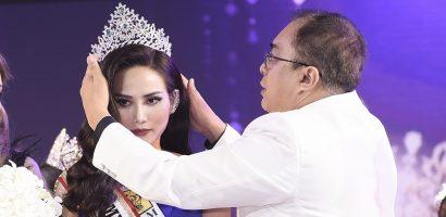Diệu Linh được trao vương miện sau sự cố hi hữu tại 'Miss Tourism Queen International 2018'