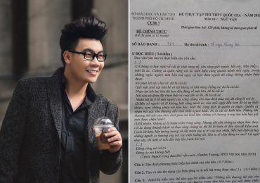 Sách của tác giả Hamlet Trương liên tiếp được đưa vào đề thi Ngữ Văn