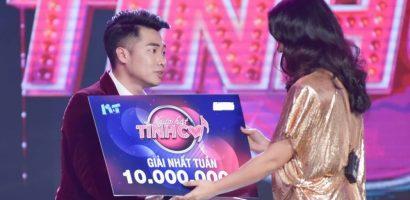 Người hát tình ca: Thí sinh được Chí Tài 'dạy hát' giành giải nhất tuần 10 triệu đồng