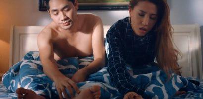 Vĩnh Thuyên Kim thừa nhận không thể diễn cảnh mùi mẫn với Minh Luân