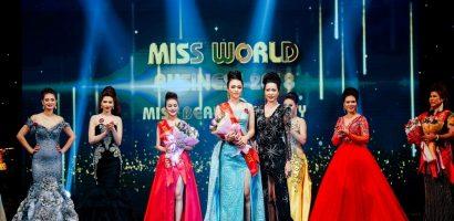 Người đẹp Thiên Vũ đoạt giải 'Miss Beautiful Body' tại Hoa hậu Thế giới Doanh nhân 2018