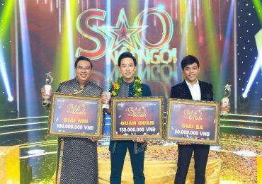 Ca sĩ Triệu Lộc giành giải quán quân 'Sao nối ngôi' mùa thứ 3