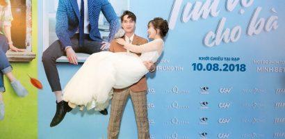S.T bồng bế, hôn tay Jang Mi cực tình cảm giữa sự kiện