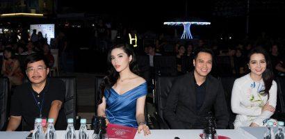 Diễn viên Việt Anh, Kỳ Duyên, Huyền My 'bắt lỗi' các người đẹp HHVN 2018 trình diễn thời trang