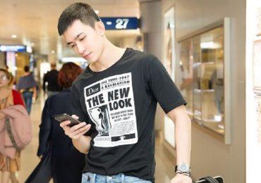 Võ Cảnh diện cây hàng hiệu, sang Hàn trình diễn cùng sao Kpop