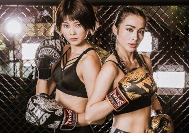 Yaya Trương Nhi và Kim Nhung 'đối đầu' trên sàn đấu muay Thai
