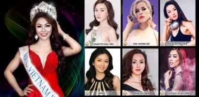 Lộ diện dàn thí sinh Mrs. Vietnam World 2018 tài sắc vẹn toàn