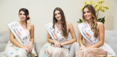 Top 3 Hoa hậu Áo 2018 dự lễ ký kết giữa tập đoàn FashionTV và Vietgroup