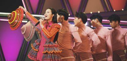 Diện trang phục dân tộc H'mông, Đông Nhi gây ấn tượng mạnh tại Nhật Bản