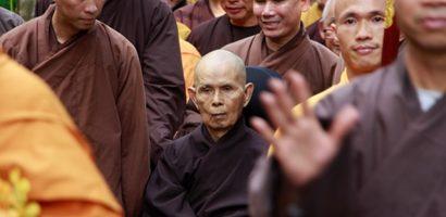 Thiền sư Thích Nhất Hạnh về Huế tĩnh dưỡng