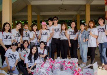 Erik cùng FC đi từ thiện khắp ba miền Bắc – Trung – Nam