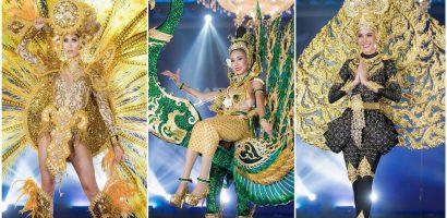 Hoa hậu Hòa bình công bố top 7 trang phục dân tộc được giám khảo chọn