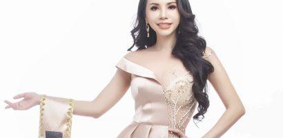 Châu Ngọc Bích đại diện Việt Nam tham dự 'Hoa hậu Qúy bà Hoàn Vũ Thế giới 2018' tại Philippines