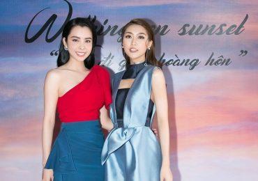 Tường Linh và Huỳnh Vy đọ sắc tại sự kiện