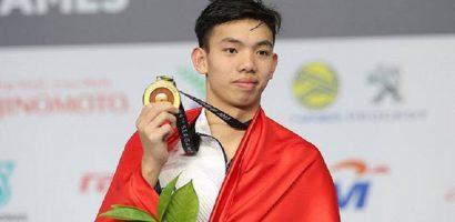 Huy Hoàng liên tiếp phá kỷ lục tại Đại hội thể thao toàn quốc
