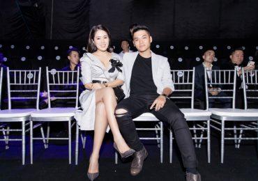 Vợ chồng Lê Phương tình tứ tham dự sự kiện thời trang