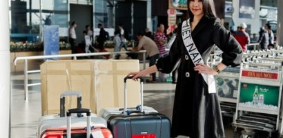 Bất chấp lùm xùm, Lê Âu Ngân Anh lên đường đi thi Hoa hậu Liên lục địa