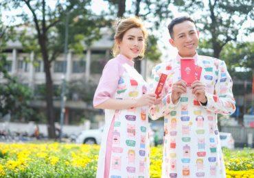 Đạo diễn Nguyễn Hữu Tiến hạnh phúc bên con gái ngày đầu xuân