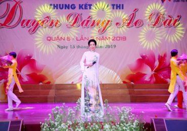 Trịnh Kim Chi đồng hành cùng cuộc thi 'Duyên dáng Áo dài quận 6'