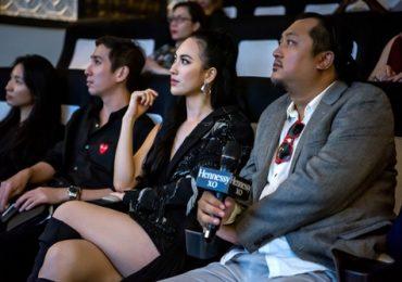 Phương Anh Đào diện váy gợi cảm, thưởng thức phim ngắn của đạo diễn Ridley Scott