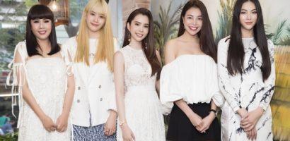 Lần đầu Phương Khánh, Hằng Nguyễn, Nam Em và Trà Ngọc Hằng hội ngộ tại sự kiện