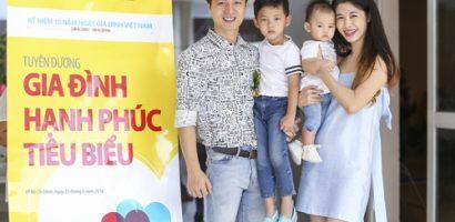 Đăng Khôi – Thủy Anh 3 năm liên tiếp nhận danh hiệu gia đình hạnh phúc tiêu biểu