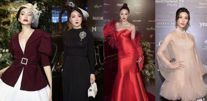 Cuộc chiến váy áo' của các mỹ nhân trên thảm đỏ 'Beauty of Yesterday'