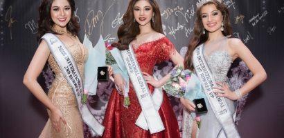 Người đẹp Bạc Liêu – Nguyễn Mỹ Huyền đăng quang 'Hoa hậu Quốc tế Toàn cầu 2019'