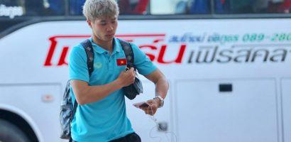 Sau trận thắng Malaysia, tuyển Việt Nam ra sân bay lúc 3h
