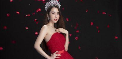 Hoa hậu Huỳnh Vy đẹp rạng ngời trong bộ mới