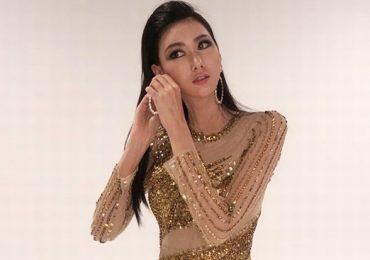 Hoa hậu Hoàn vũ Hàn Quốc mặc trang phục nhà thiết kế Đức Vincie