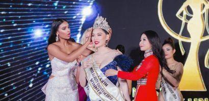 Người đẹp Hoài Thu đăng quang 'Hoa hậu Sắc đẹp Hoàn vũ 2020'