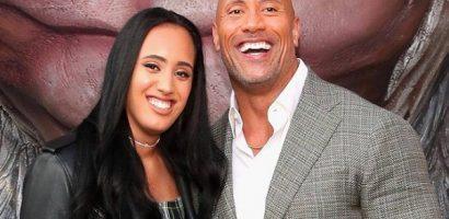 Con gái 19 tuổi nối nghiệp đô vật của tài tử The Rock