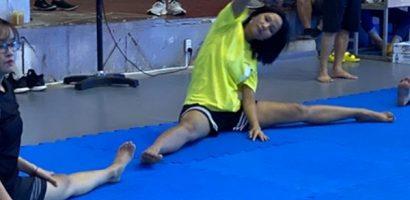 Hoa hậu H'Hen Niê tích cực luyện tập võ thuật cho lần 'lấn sân' sang điện ảnh