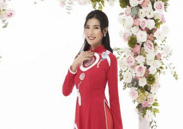 Thúy Diễm hóa cô dâu trong bộ ảnh áo dài mới