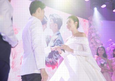 Khoảnh khắc đẹp và xúc động trong hôn lễ của Á hậu Thúy Vân