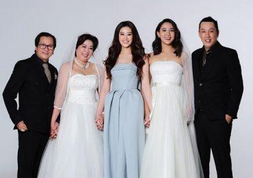 Hoa hậu Khánh Vân khoe bộ ảnh chụp cùng gia đình