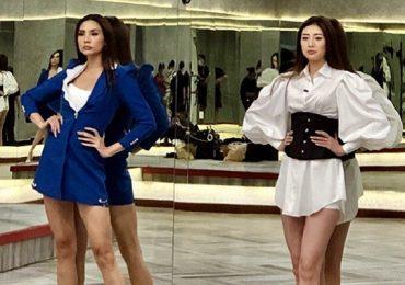 Võ Hoàng Yến trau dồi kỹ năng catwalk cho Hoa hậu Khánh Vân