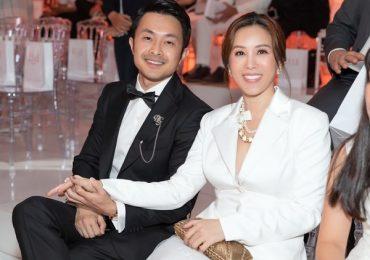 Hoa hậu Thu Hoài bối rối khi bị nhiều người giục cưới sớm