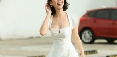 Thu Trang nhận mưa lời khen trong phim 'Tiệc trăng máu'