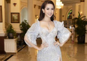 Hoa hậu Phan Thị Mơ kiêu sa, xuất hiện rạng rỡ dù bận rộn với lịch trình quay phim
