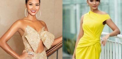 Hoa hậu H'Hen Niê nổi bật với sắc vàng