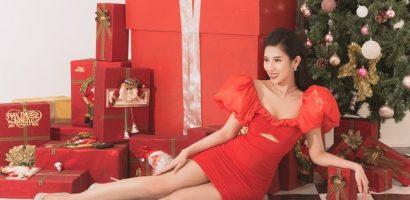 Hoa hậu Dương Yến Nhung chia sẻ bí kiếp 'ế nhưng hạnh phúc' trong ngày Giáng sinh