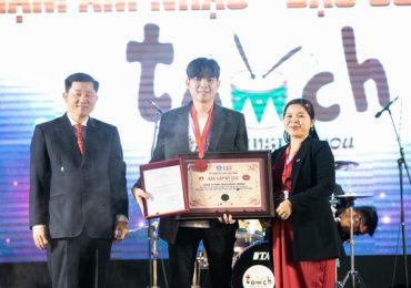 Sự kiện xác lập Kỷ lục Guinness Việt Nam biểu diễn trống Jazz nhiều nhất